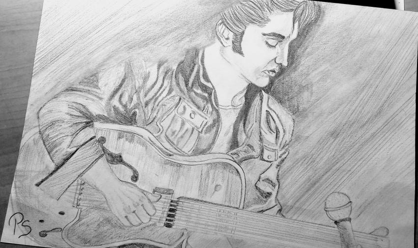 Elvis Presley by PenStilos